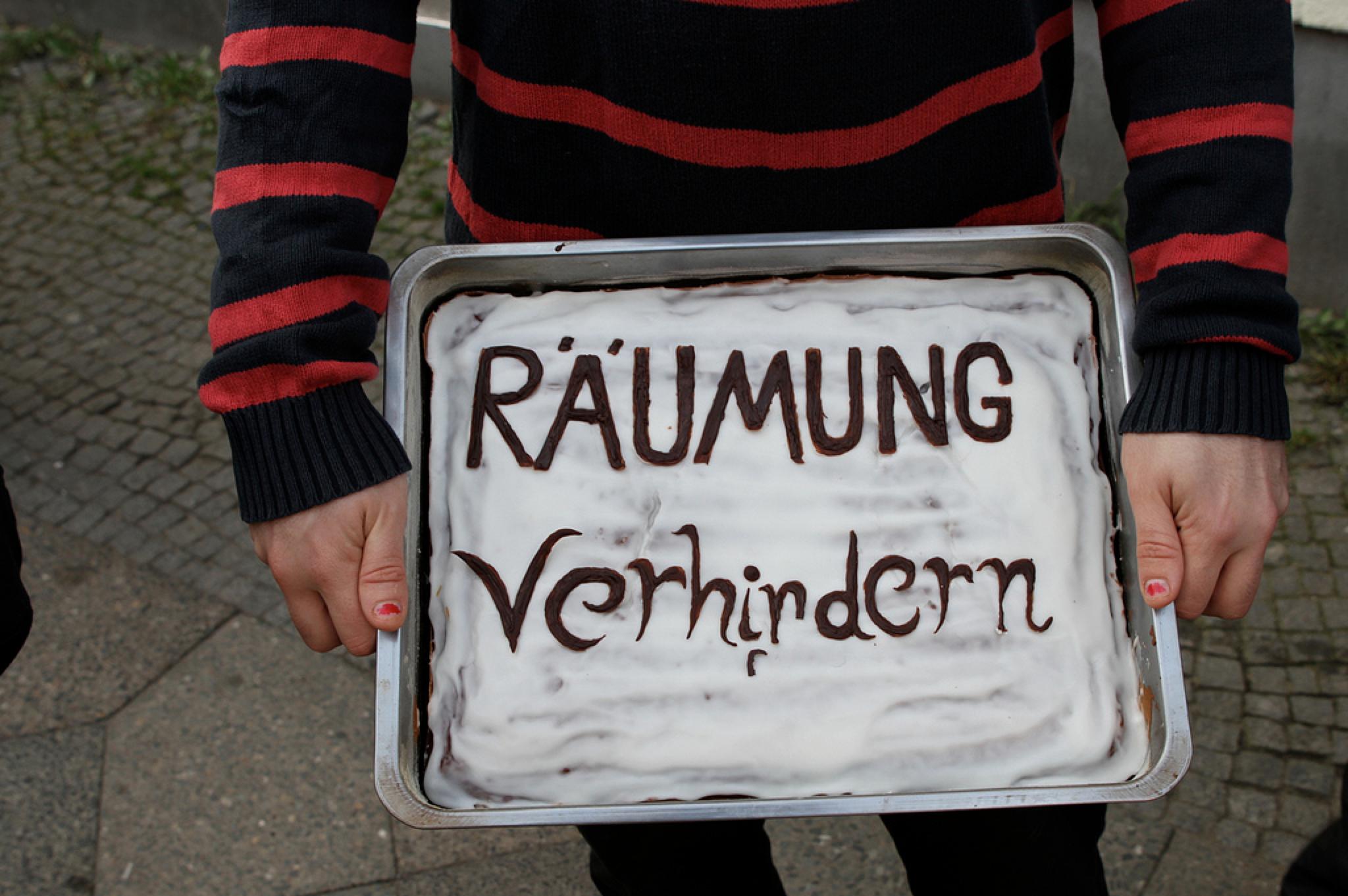 Zwangsräumung Jahnstra�e © Neuköllnbild